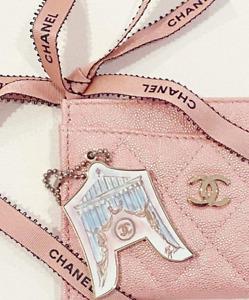 Chanel Vip Gift Bag Charm Iconic Key Chain Rare