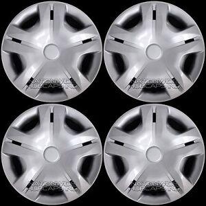 """4 15"""" Hubcaps fit Nissan Sentra Cube Micra 03-17 Wheel Covers Full Rim Hub Caps"""