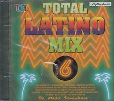 Total Latino Mix 6 Latino Dance Mix Latino Merengue Mix CD New Nuevo  Sealed