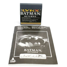 Batman Returns for Atari Lynx, 1992, Beat 'em up / Brawler, Action