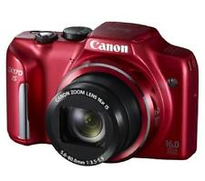 Canon PowerShot SX170 IS 16.0MP Digital Camera - Red