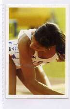 (Jh365-100) RARE,Trade Card Booster of Florence Griffith,Athlete  1986 MINT