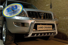 Toyota Land Cruiser 120 2003-2010 CE APPROVED BULL BAR PUSH BAR WITH AXLE GRILL