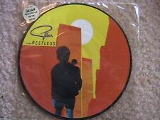 "DEEP PURPLE IAN GILLIAN ""RESTLESS"" 7"" 45 U.K. PICTURE DISC IMPORT"