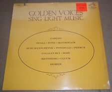 GOLDEN VOICES SING LIGHT MUSIC Caruso/Pinza/Pons - RCA LM-2627 SEALED