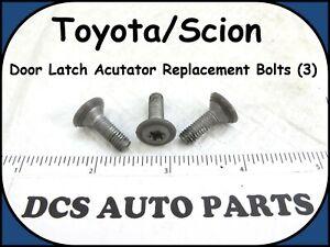 2001-2015 Toyota Prius Camry Scion Door Actuator Replacement Bolt Set (3)