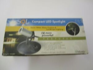 Atlantic SOL3WE LED Compact Spotlight Water & Landscape Lighting 3 watt - NIB