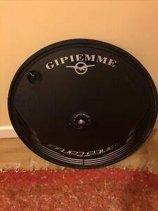 Gipiemme Carbon Disc TT Timetrial Rear Wheel Shimano Tubular Ultegra Cassette