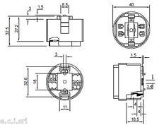 9405/D2 PORTALAMPADE PER LAMPADE FLUORESCENTI G24 ATTACCO G24D2 GX24D2