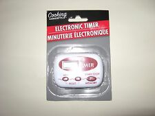 COOKING CONCEPTS ELECTRONIC TIMER - NEW IN ORIGINAL SEALED PACKAGE