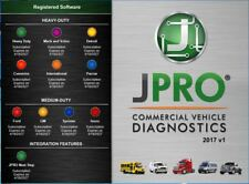 JPRO Commercial Fleet Diagnostics Software 2017 V1 Latest & Complete Edition