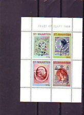 ST MAARTEN 2014  zegel op zegel    stamp on stamps  velletje  postfris