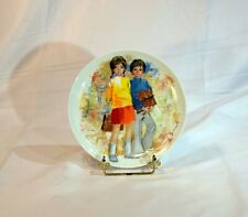 Emilie et Philippe, limited edition Children Collection Limoge French plate.