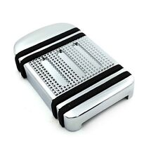 Brand New Light Weight Brake Pedal Pad Cover For Harley Fat Boy Electra Glide