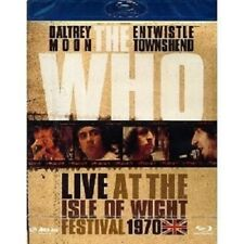 """THE WHO """"LIVE AT THE ISLE OF WIGHT""""  BLU-RAY NEU"""