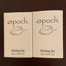 Nu Skin Epoch Polishing Bar Soap 3.4 oz x 2 Safety-Allergy-Dermatologist Tested