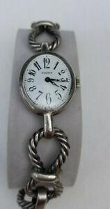 ANDORA -Silber 835 Armbanduhr - Damen - Mechanisch - Silberarmband  70 Jahre