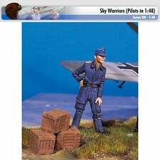 Andrea Miniatures SW06 German Pilot at Rest II 1/48 scale metal model Figure