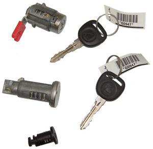 2007-2010 Saturn Sky Ignition+Door+Glove Box Lock Cylinders W/2 Keys OEM New