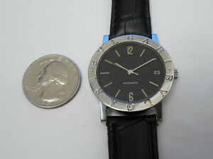 BVLGARI BB33SLD AUTO 33MM MEN'S AUTOMATIC DATE WITH DEPLOYMENT STRAP