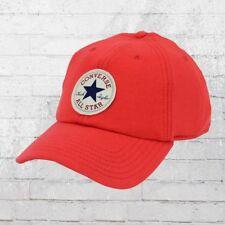 Converse Cappuccio Felpa Baseball Cap rosso in pile Basecap Berretto cappa ha capi