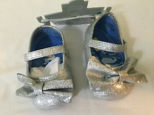 NWT Disney Store Cinderella Baby Costume Shoes Princess 0 6 M 6 12 18 Months