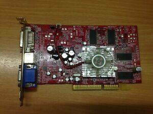 Club 3d AMD Radeon 9600 Pro 256 MB Video Card AGP 8x Retro VGA DVI S-Video