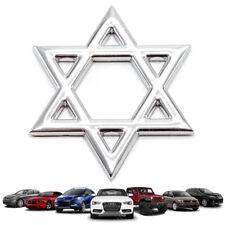 Badge Emblem Logo Star Shape Chrome Trim Fits Univeresal Car Toyota Honda Mazda