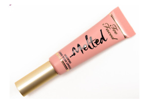 Too Faced Melted Liquified Lipstick Pigmented Light NUDE Full Size 0.40oz NEW
