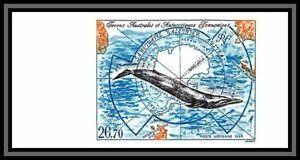 départ 1euro Terres australes Taaf PA N°139 baleine whale Non dentelé imperf MNH