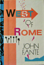 John Fante / West of Rome First Edition 1986