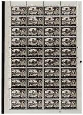 1963 Hoja Completa 2/6 - Castillo Bradbury wmk 40 Sellos SG 595