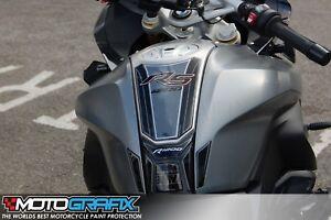 BMW R1200RS 2015 16 Granite Grey Motorcycle Tank Pad Motografix 3D Gel Protector