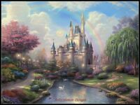 The Cinderella Castle - Chart Counted Cross Stitch Patterns DIY Needlework