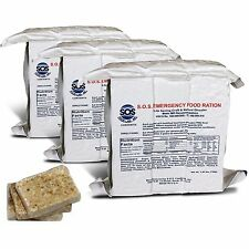 S.O.S. Emergency Food Rations 3600 Calorie with 5 Year Shelf Life - (Pack of 3)