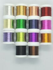Hends Extra Fine Colored Wire Fly Tying Wire Fly Tying 24 Yd Spools 0.09 mm