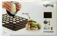 Lekue Macaron Kit with Decomax Pen and Baking Sheet