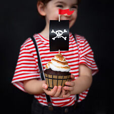 PIRATE PARTY CUPCAKE KIT | Cupcake Wraps Tableware Range Childrens Pirate Party