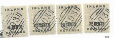 #116 121-123 British Guiana Inland Revenue - CAT $132.00 Stamps