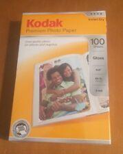 Kodak Premium 4x6 Inch Gloss Photo Paper 100 Sheets Glossy Instant Dry 64 LB