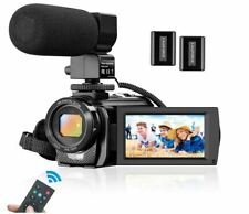 Camcorder Video Camera for YouTube, Vlogging Camera Recorder Full HD 1080P 30FPS
