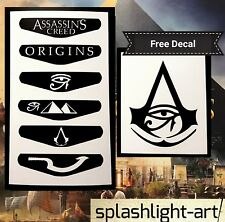 Manette PS4 Light Bar 6x Assassin's Creed Origins Vinyl Decal Sticker Dieux