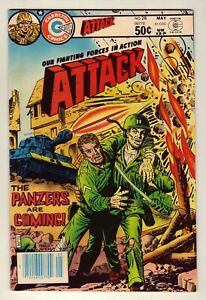 Attack #28 - May 1981 Charlton - war stories - Very Fine (8.0)