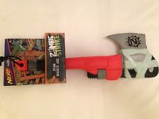 NEW NERF Zombie Strike Z Foam Wrench Axe Prop Cosplay DISCONTINUED Rare Ax