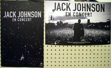 JACK JOHNSON 2009 en concert 2 sided promo poster ~MINT condition~NEW old stock!