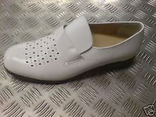 Unbranded Leather Upper White Casual Shoes for Men