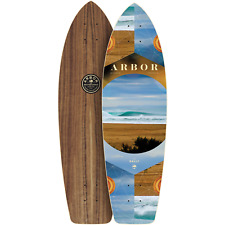 "Arbor Rally Photo 30.5"" Longboard Skateboard Photo Beach, Deck Only - Brand NEW"