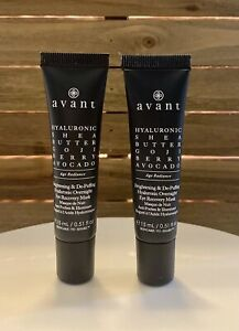 2 Avant Brightening & De-Puffing Hyaluronic Overnight Eye Recovery Mask 15ml
