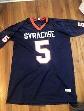 New listing Donovan McNabb 5 Syracuse Orangemen College Football Jersey Mens 2XL SEWN NCAA
