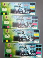 Official Monaco Grand Prix 2016 UNUSED F1 Formula 1 Tickets Saturday & Sunday